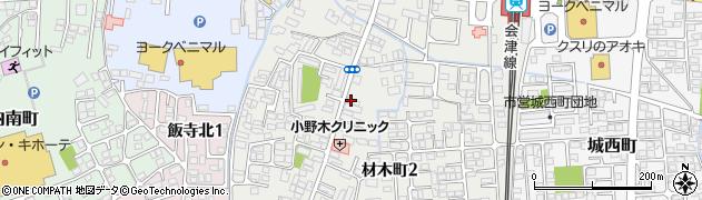 中屋善兵衛商店周辺の地図