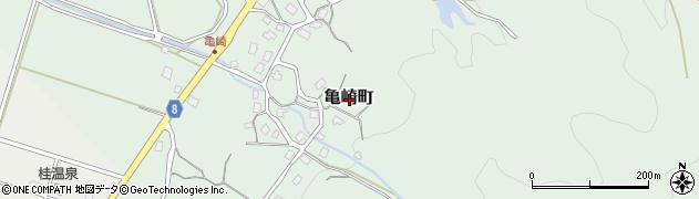 新潟県長岡市亀崎町周辺の地図
