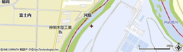 福島県郡山市日和田町高倉(立石)周辺の地図