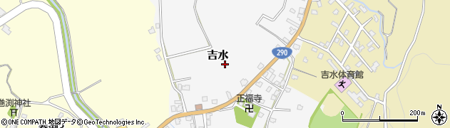 新潟県長岡市吉水周辺の地図