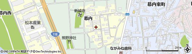 福島県会津若松市神指町大字南四合周辺の地図