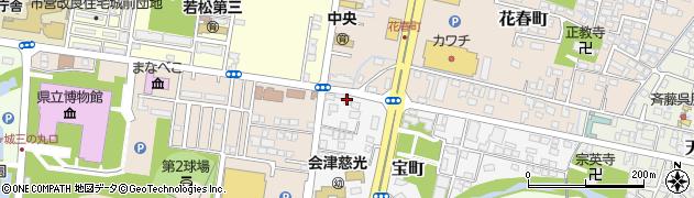 せいじ美容室周辺の地図