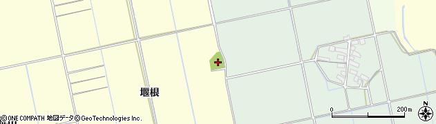 福島県会津若松市北会津町下米塚(川西)周辺の地図