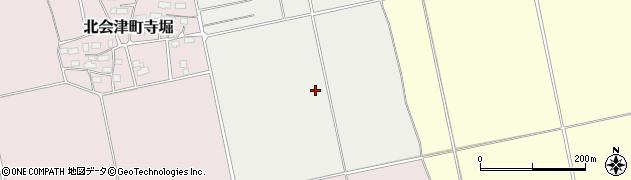 福島県会津若松市北会津町今和泉(町畑)周辺の地図