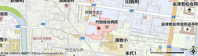 竹田綜合病院 こどもの相談支援事業所るーぷ周辺の地図