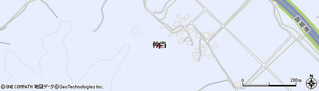 福島県郡山市熱海町高玉(仲当)周辺の地図