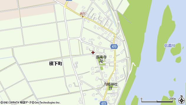 〒940-2001 新潟県長岡市槇下町の地図