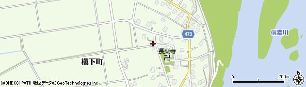 新潟県長岡市槇下町周辺の地図