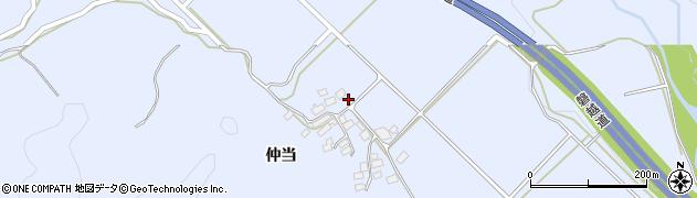 福島県郡山市熱海町高玉(堺ノ目)周辺の地図