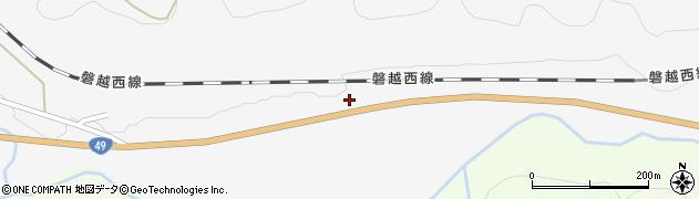 福島県郡山市熱海町中山(見分山)周辺の地図