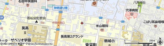 福島県会津若松市の地図 住所一覧検索|地図マピオン