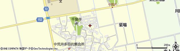福島県会津若松市北会津町ほたるの森周辺の地図