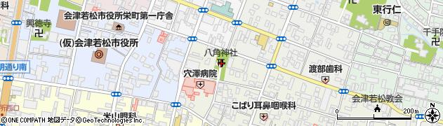 八角神社周辺の地図