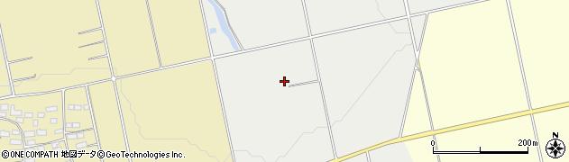 福島県会津若松市北会津町今和泉(台ノ上)周辺の地図