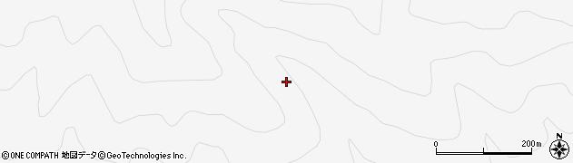 福島県郡山市熱海町中山(小福沢)周辺の地図