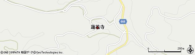 新潟県長岡市蓮花寺周辺の地図