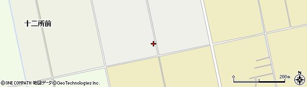 福島県会津若松市北会津町本田(番田)周辺の地図