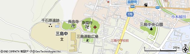 新潟県長岡市脇野町上横町周辺の地図