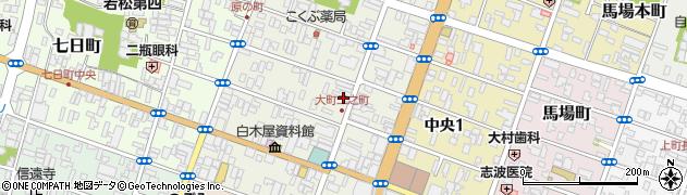 満山漆器店周辺の地図