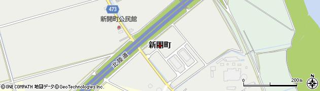 新潟県長岡市新開町周辺の地図