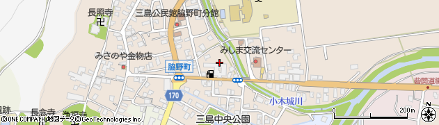 新潟県長岡市脇野町学校町周辺の地図