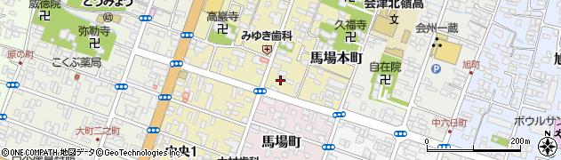 福島県塗装協会 会津支部周辺の地図