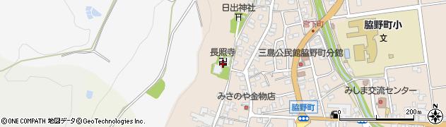 長照寺周辺の地図