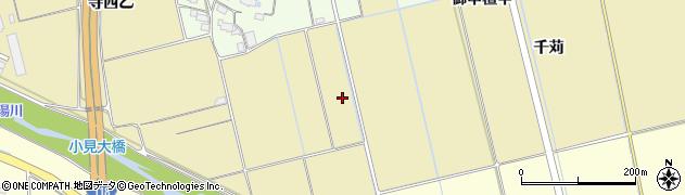 福島県会津若松市神指町大字中四合(村南)周辺の地図