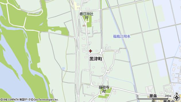 〒940-0007 新潟県長岡市黒津町の地図