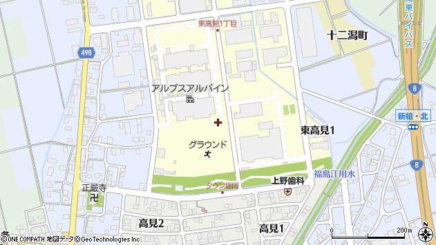 〒940-0006 新潟県長岡市東高見の地図