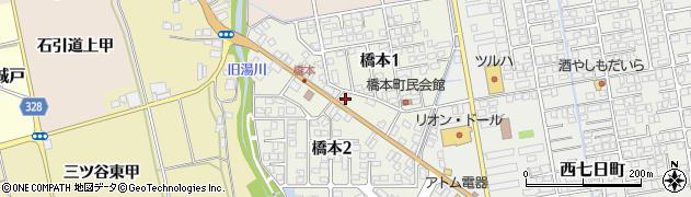 生天目輪業周辺の地図