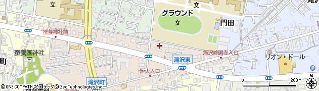 東京電力若水寮周辺の地図