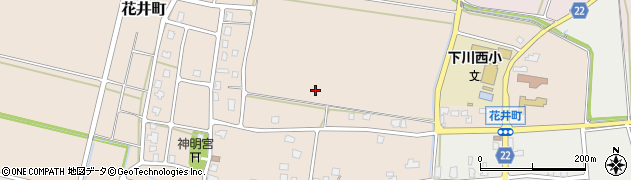 新潟県長岡市花井町周辺の地図