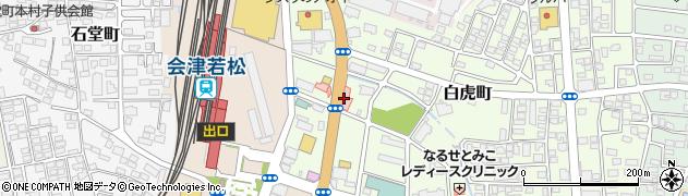 新潟県環境衛生研究所(一般財団法人) 会津事業所周辺の地図