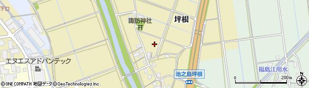 新潟県長岡市坪根周辺の地図