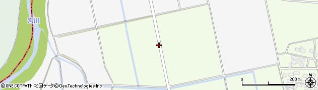 福島県会津若松市北会津町安良田(平太郎)周辺の地図