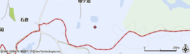 福島県南相馬市小高区下浦畑ケ迫周辺の地図