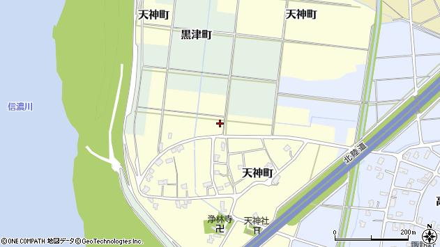 〒940-0008 新潟県長岡市天神町の地図