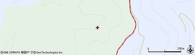 福島県郡山市熱海町玉川(彌曾沢)周辺の地図