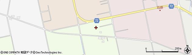 福島県会津若松市北会津町安良田(勇源橋)周辺の地図
