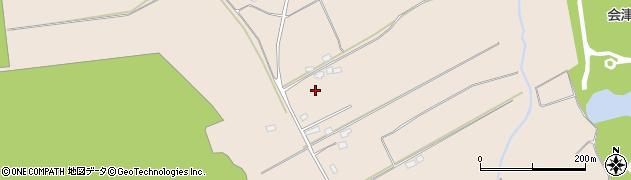 福島県会津若松市湊町大字赤井(笹山原甲)周辺の地図
