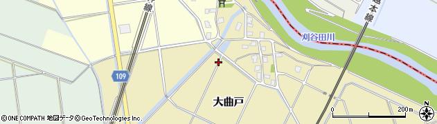 新潟県長岡市大曲戸周辺の地図