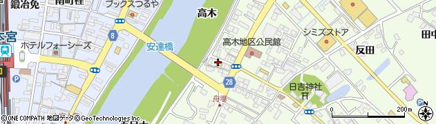 渡辺米店周辺の地図