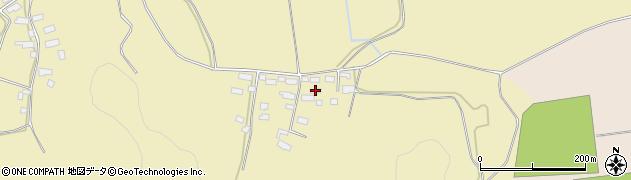 福島県会津若松市河東町八田(東箕輪庚)周辺の地図