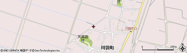 新潟県長岡市川袋町周辺の地図
