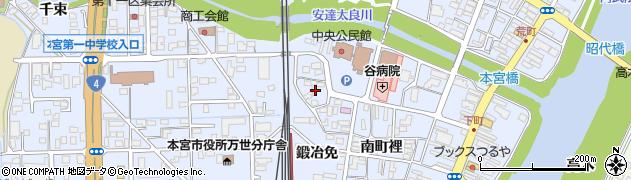 有限会社本宮設備周辺の地図
