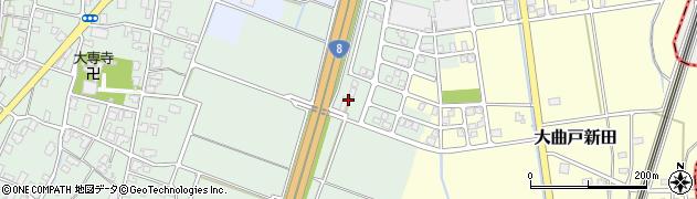 新潟県長岡市幸南周辺の地図