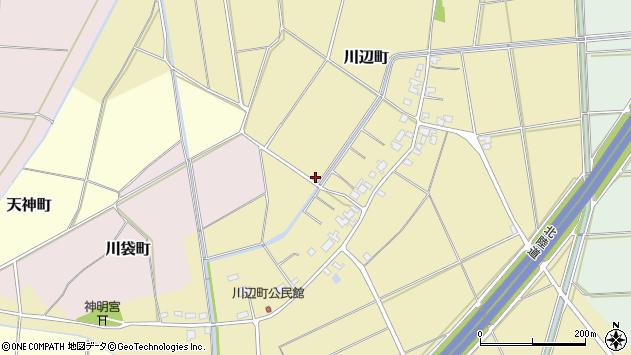 〒940-0001 新潟県長岡市川辺町の地図