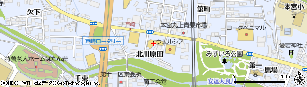 ファッションプラザシミズ・舘町店周辺の地図