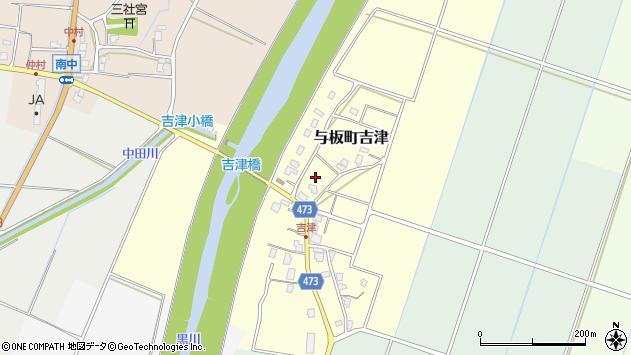 〒940-2413 新潟県長岡市与板町吉津の地図